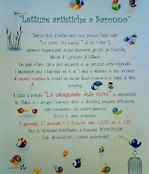 Letture artistiche a Saronno